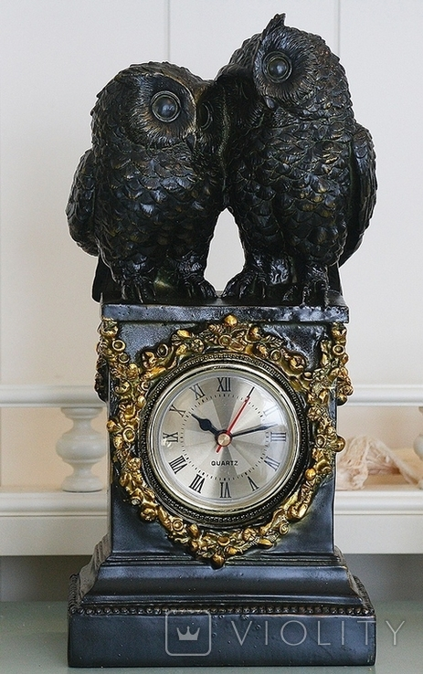 Часы интерьерные Совы, фото №2