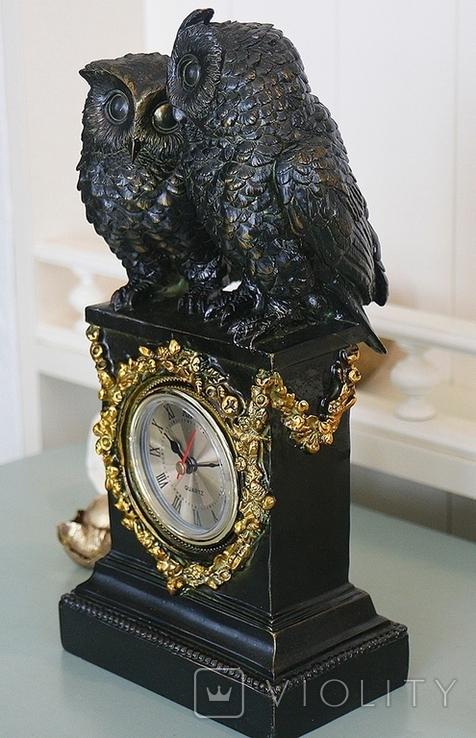 Часы интерьерные Совы, фото №7