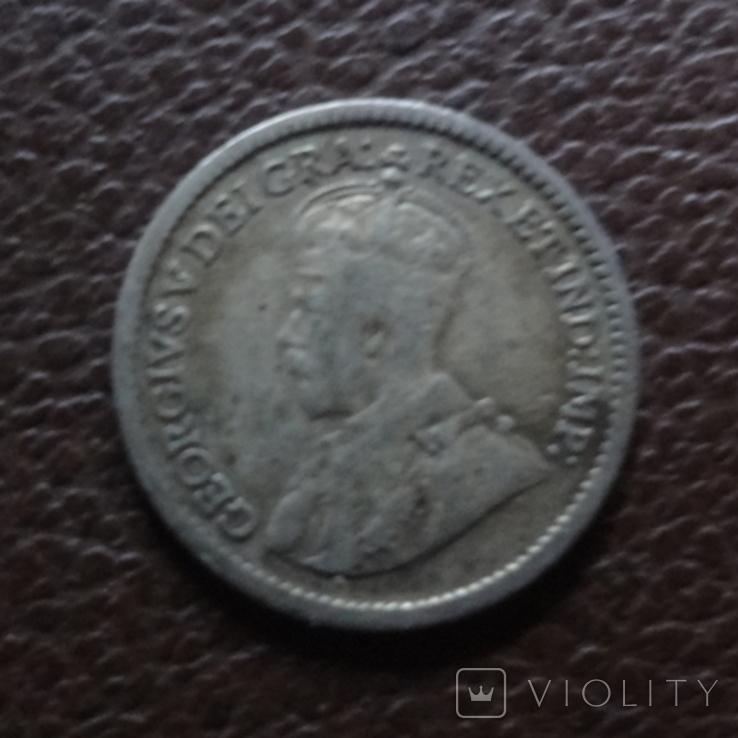 5 центов 1916 Канада серебро (7.8.6), фото №3