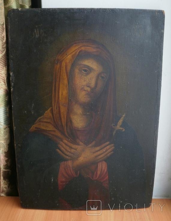 Икона Божией Матери Васильковская, фото №2