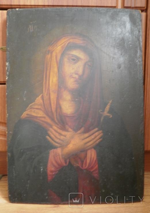 Икона Божией Матери Васильковская, фото №3
