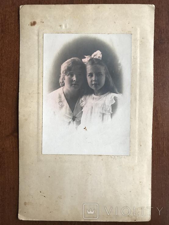 Мама с дочкой Бант Фото 30х, фото №3