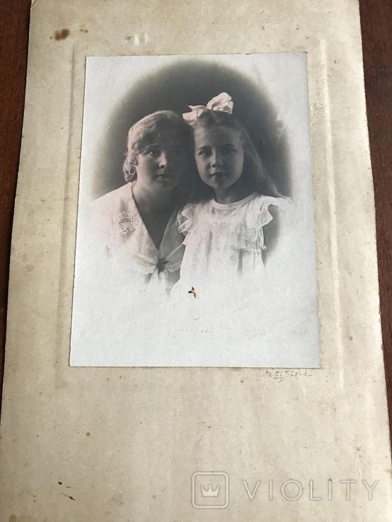 Мама с дочкой Бант Фото 30х, фото №4