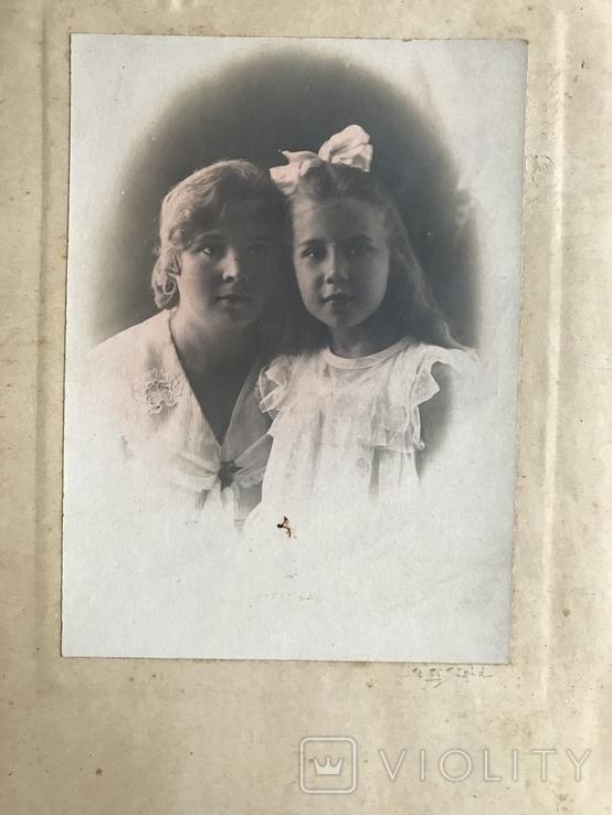 Мама с дочкой Бант Фото 30х, фото №2