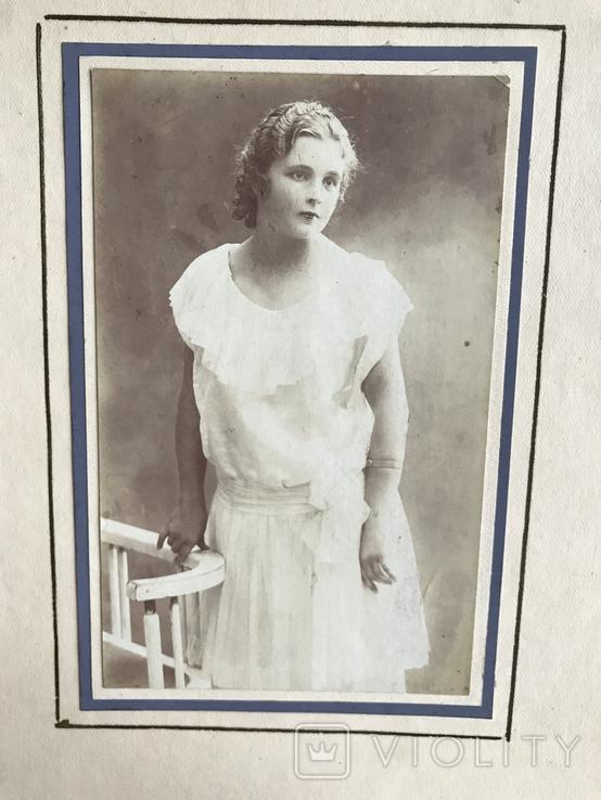 Девушка в белом платье Фото 30х, фото №6