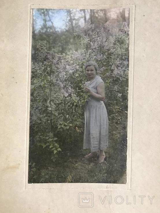 Фото 30х Девушка Платье Сирень, фото №4