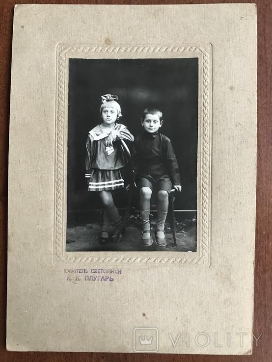 Любитель светописи Плугарь Старое фото Дети, фото №3