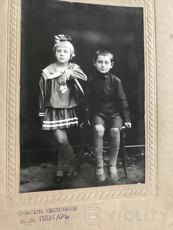 Любитель светописи Плугарь Старое фото Дети, фото №6