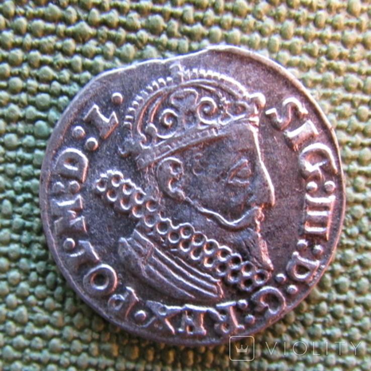 Трояк 1624 года, фото №3