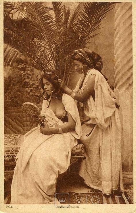 Восточные красавицы в гареме. Ню, эротика. 1900-1910-е гг., фото №2