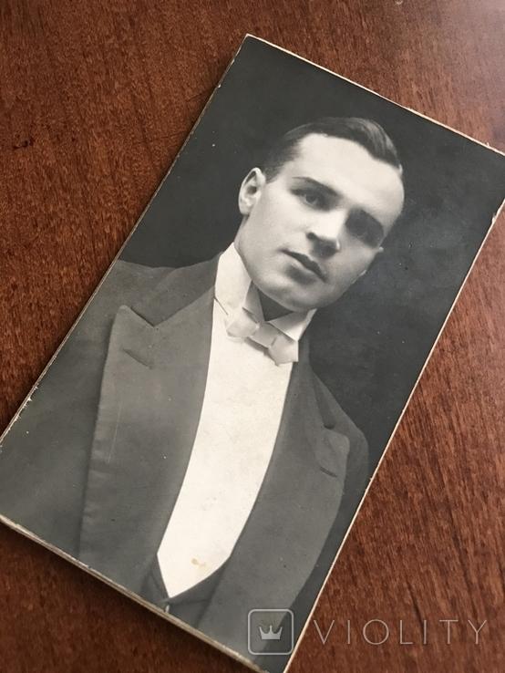 1927 Курск Представительный Мужчина с бабочкой, фото №4
