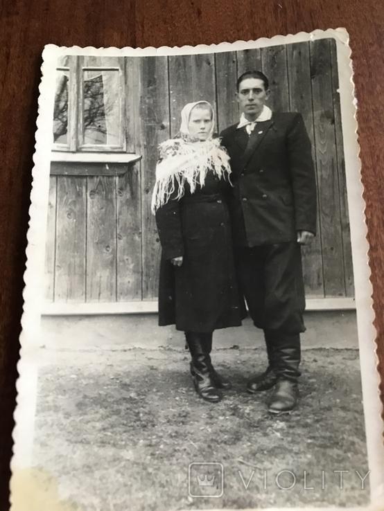 Старое фото Деревянный дом Сапоги, фото №3