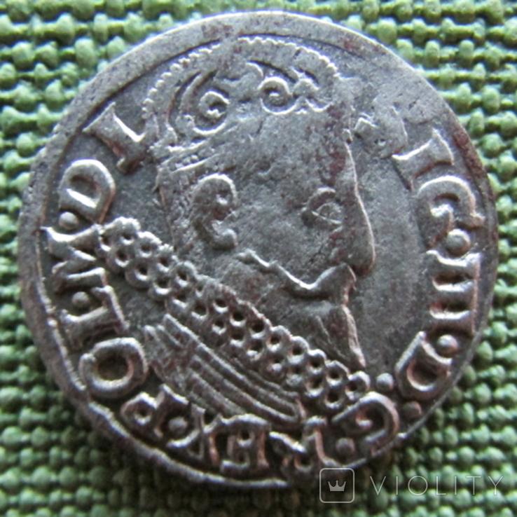 Трояк 1622 года, фото №3