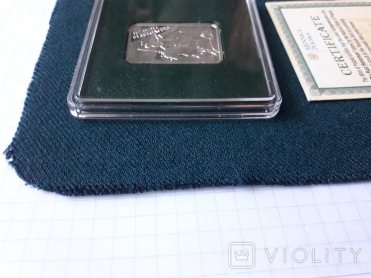 10 злотих 2006 р Польща срібло, фото №11