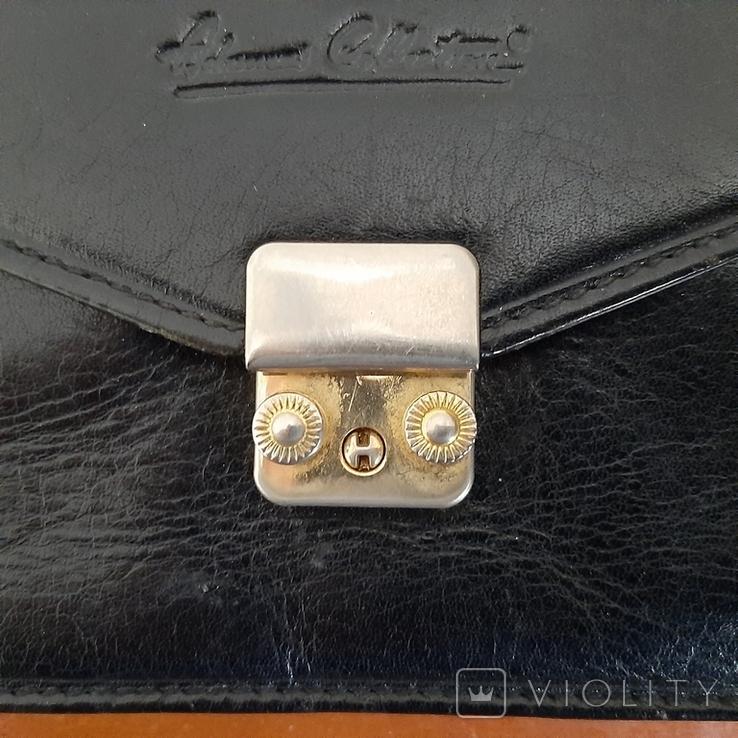 """Мужская сумка - кошелек кожа """"Adamas Collection"""" № 59137, фото №4"""