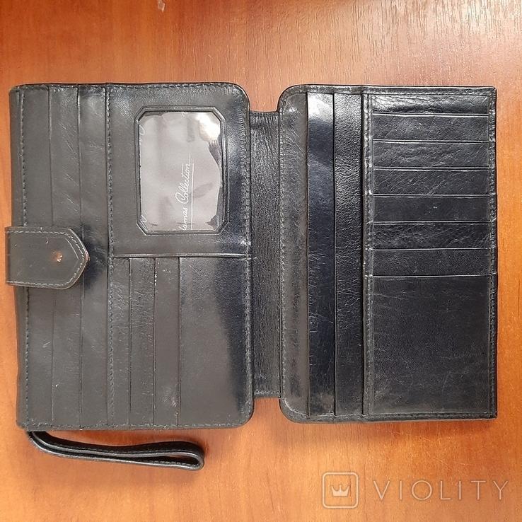 """Мужская сумка - кошелек кожа """"Adamas Collection"""" № 59137, фото №6"""