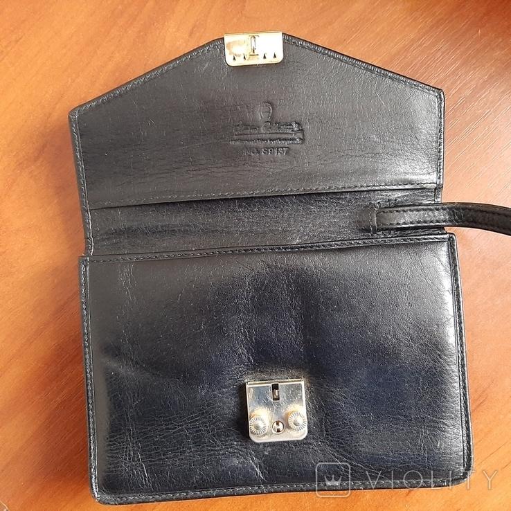 """Мужская сумка - кошелек кожа """"Adamas Collection"""" № 59137, фото №8"""