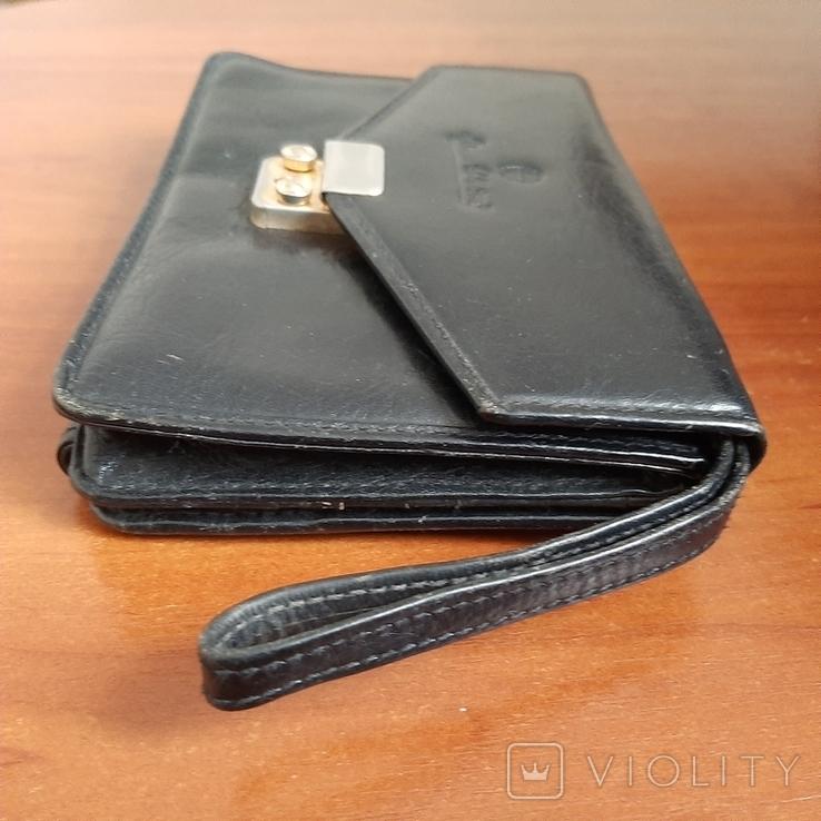 """Мужская сумка - кошелек кожа """"Adamas Collection"""" № 59137, фото №11"""