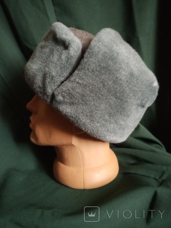 Солдатская шапка ушанка 1987 год, фото №8
