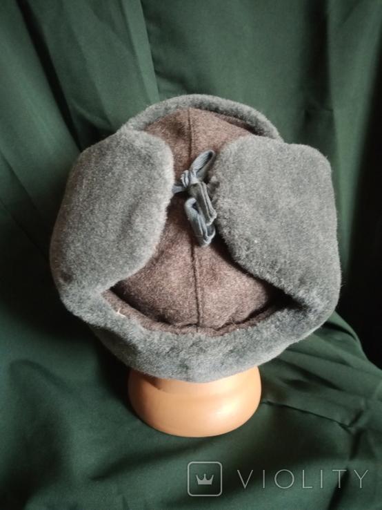 Солдатская шапка ушанка 1987 год, фото №9