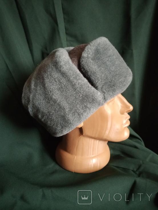 Солдатская шапка ушанка 1987 год, фото №10