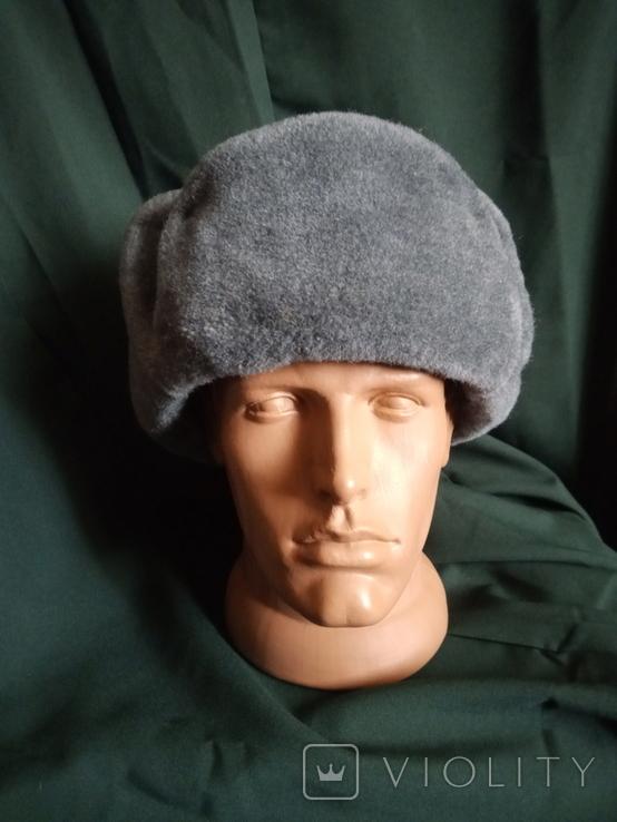 Солдатская шапка ушанка 1987 год, фото №11