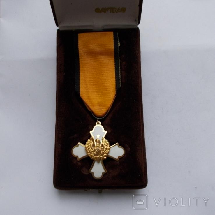 Греция. Орден Феникса, 3-й тип. 4-я степень. В родной коробке., фото №2