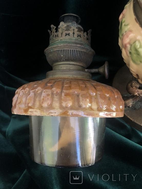 Лампа, сецесія 1910-х років, майоліка, фото №10