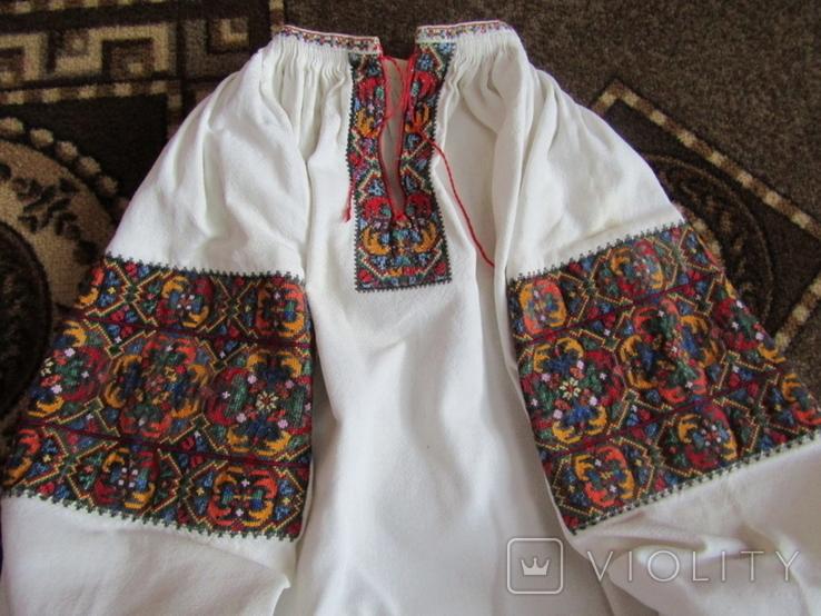 Старовинна Верховинська сорочка., фото №4