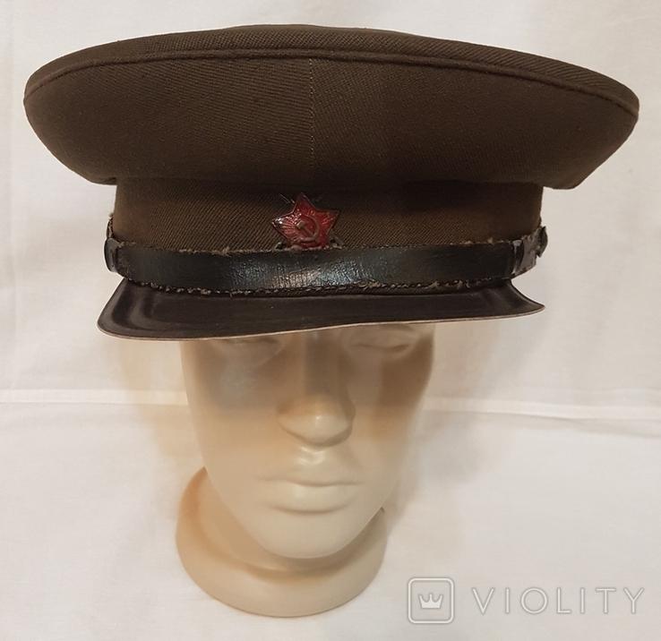 Фуражка ВОХР СССР 1940-е гг, фото №6