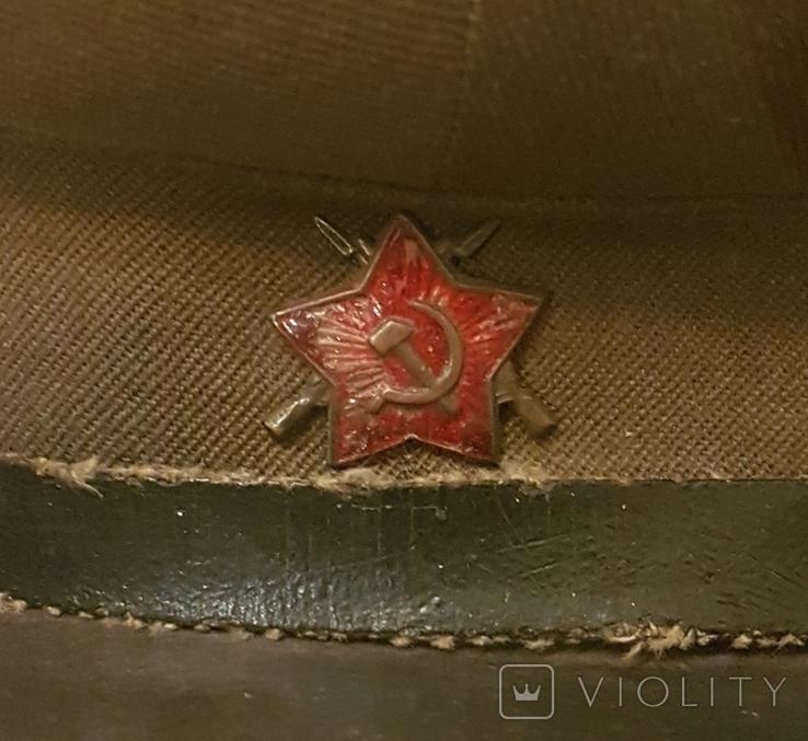 Фуражка ВОХР СССР 1940-е гг, фото №10