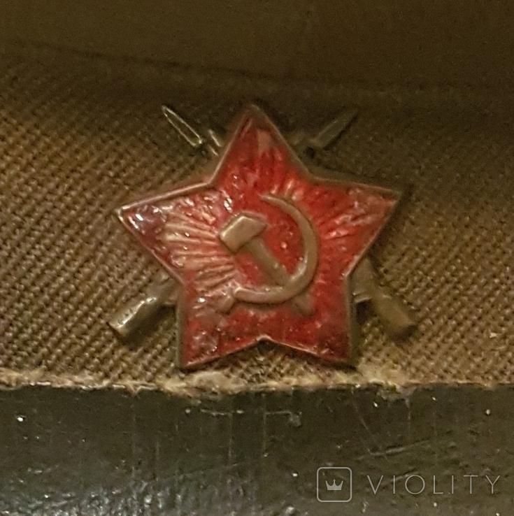 Фуражка ВОХР СССР 1940-е гг, фото №11