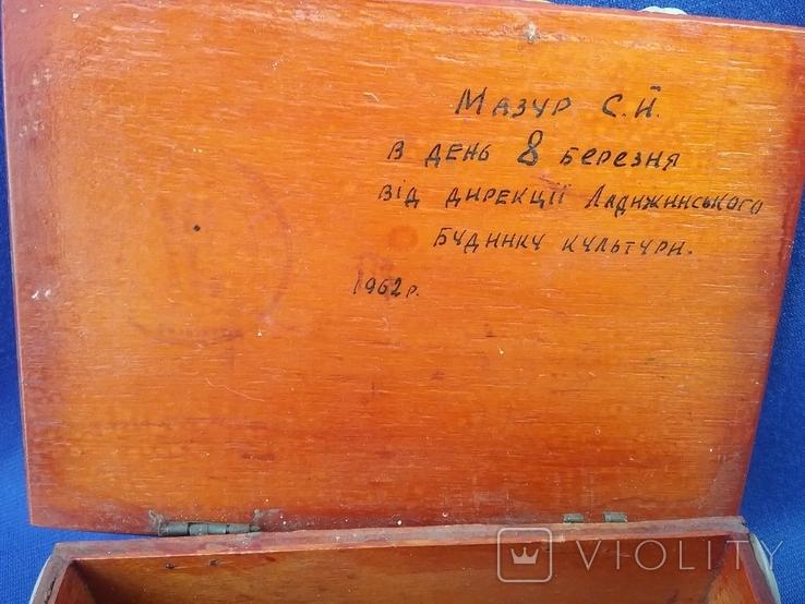Шкатулка СССР ,Крым Ласточкино гнездо 60 -х годов, фото №7