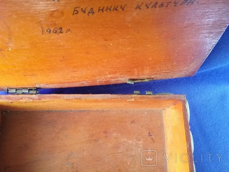 Шкатулка СССР ,Крым Ласточкино гнездо 60 -х годов, фото №9