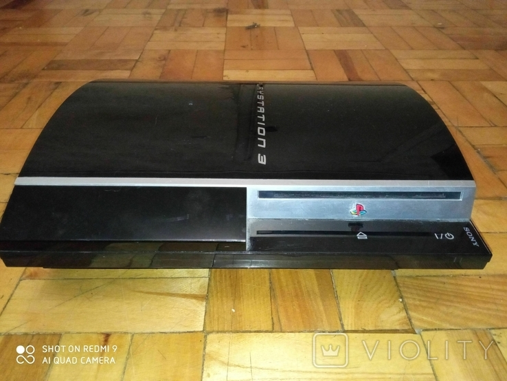 Приставка игровая Сони Плейстейшн Sony PlayStation 3 PS3 FAT, фото №2