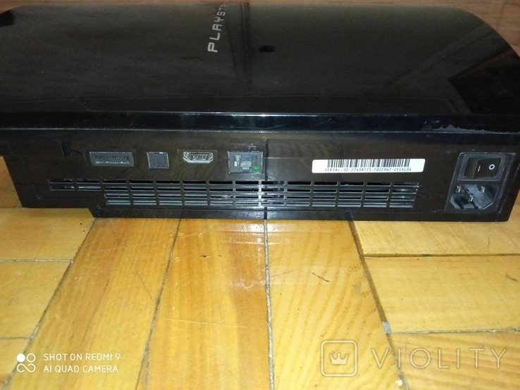 Приставка игровая Сони Плейстейшн Sony PlayStation 3 PS3 FAT, фото №3