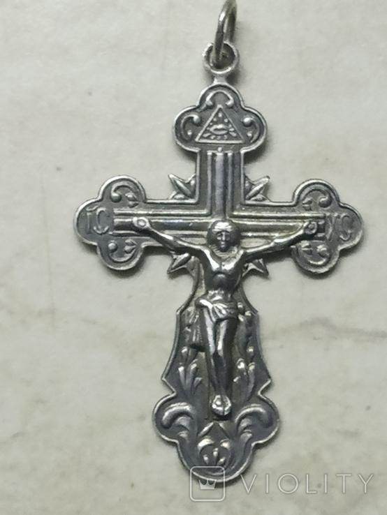 Крестик 925 проба, фото №2
