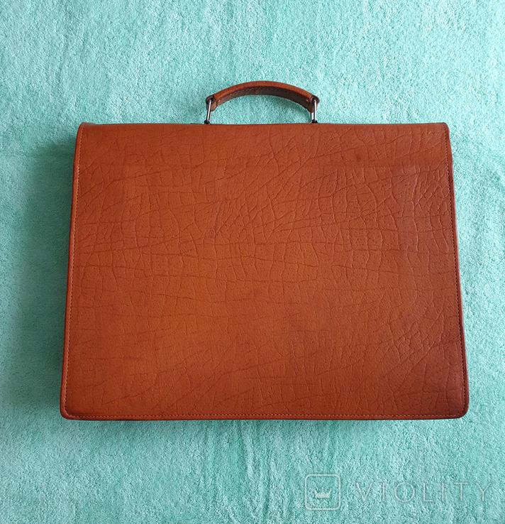 Кожаный портфель СССР, фото №3