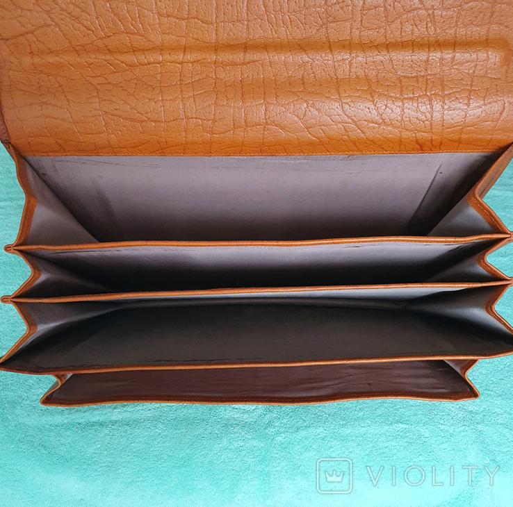 Кожаный портфель СССР, фото №8