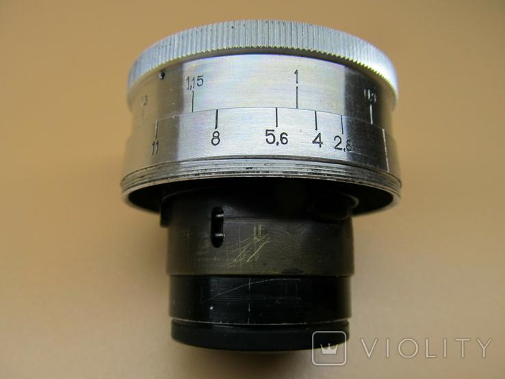Обьектив Юпитер 12 с резьбой №5502369, фото №5