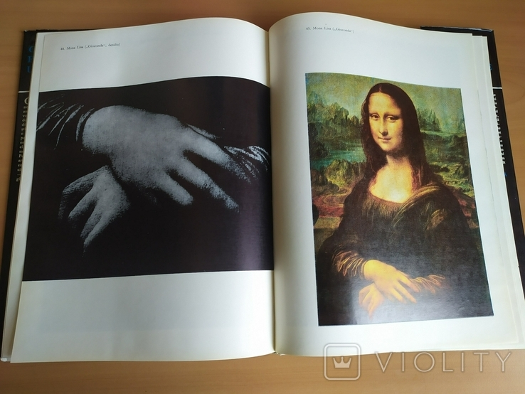 Каталог картин Леонардо да Винчи 1978 год на румынском языке, фото №7