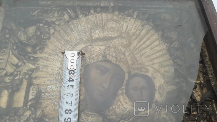 Икона старинная богородица 2, фото №10