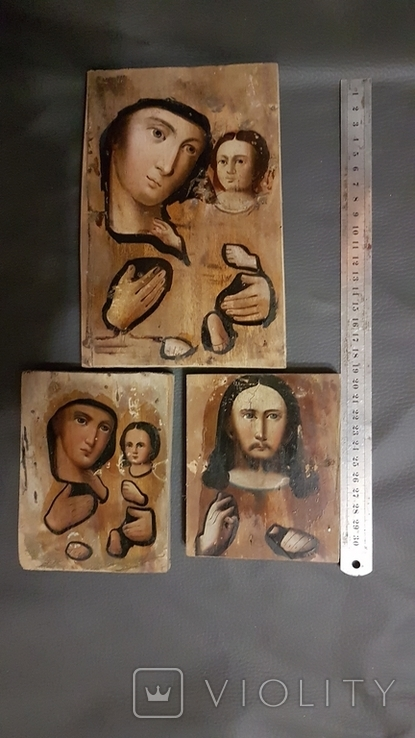 Подокладные иконы, одним лотом., фото №2