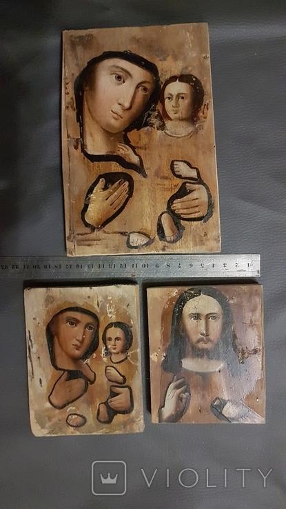 Подокладные иконы, одним лотом., фото №3