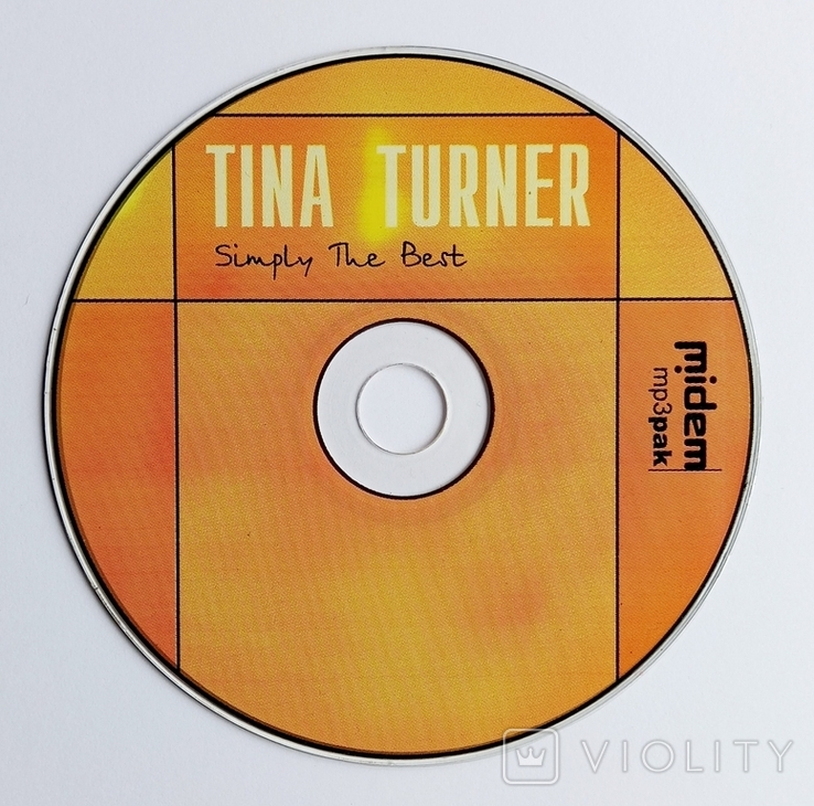 TINA TURNER. Simply The Best. best МР3 collection., фото №5