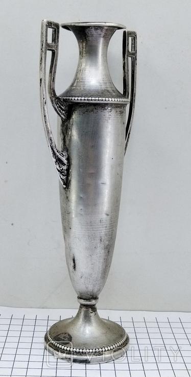 Кубок серебро 800 проба клеймо, старинный., фото №11