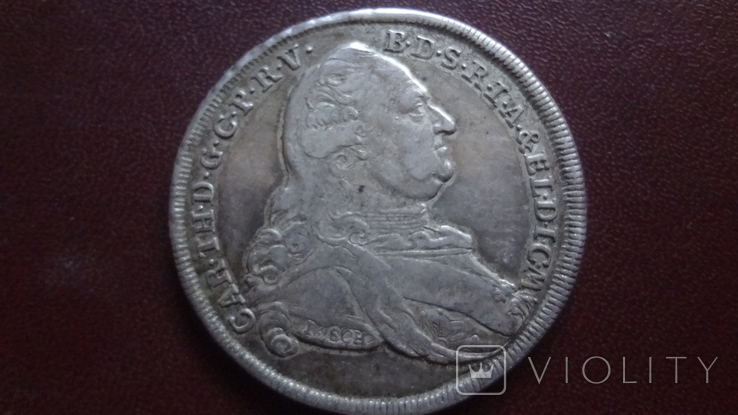 Талер 1781 Бавария серебро (8.3.7), фото №2