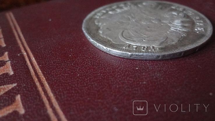 Талер 1781 Бавария серебро (8.3.7), фото №7