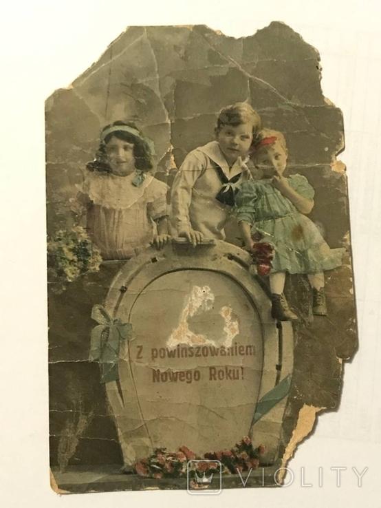 Открытка Польша дети, фото №3