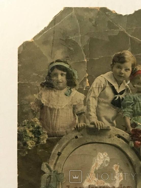 Открытка Польша дети, фото №4